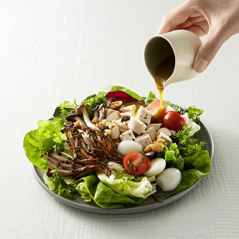 모둠버섯 치킨 샐러드 (스몰/레귤러)